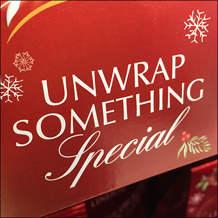 Lindt Unwrap-Something-Special Holiday Display