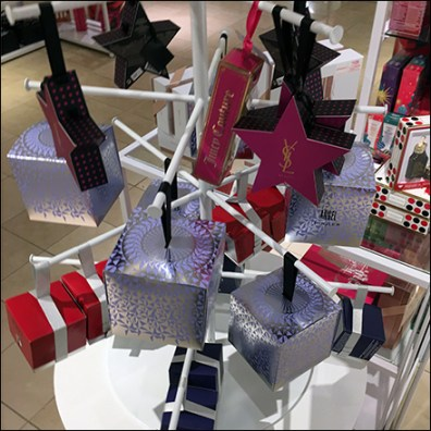 Macys Fragrance Faceout Tree Display