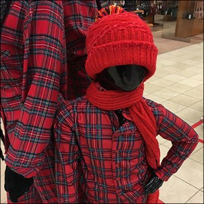 Macys Plaid Camouflage Visual Merchandising