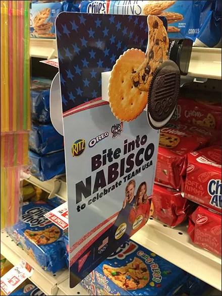 SmartSource Nabisco Dimensional Shelf-Edge Flag