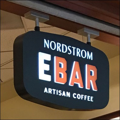 Nordstrom Ebar Mall-Concourse Entry  Branding