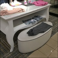 Nordstrom Piping-Trimmed Oval Bench