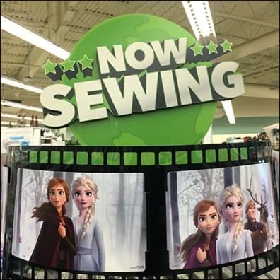Disney Frozen Now-Sewing Character Fabrics
