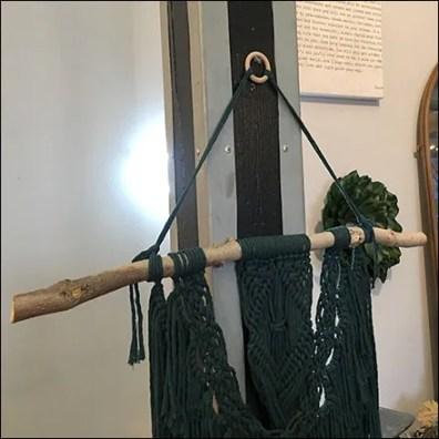 Rustic Natural Clothes-Hanger Prop