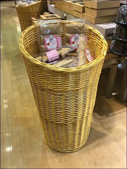 Strawberry-Pie Wicker Basket Tower