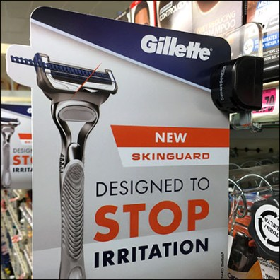 SmartSource Gillette Shelf-Edge Category Definition