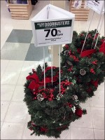 JoAnn's Wreath-Stacker Triangle Sign Holder