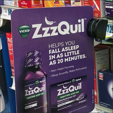 SmartSource ZzzQuil Shelf-Edge Flag Promise