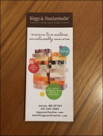 Briggs-&-Featherbelle Natural Soap Takeaway Flyer