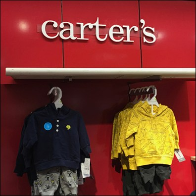 Carter's Logo-Silhouette Department Branding