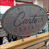 Carter's Engraved Logo Department Branding