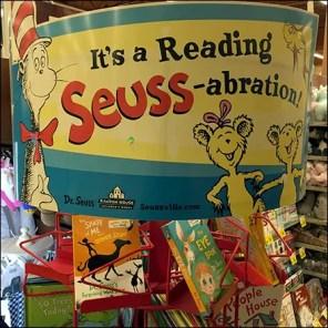 Dr. Seuss Reading Celebration Book Tower