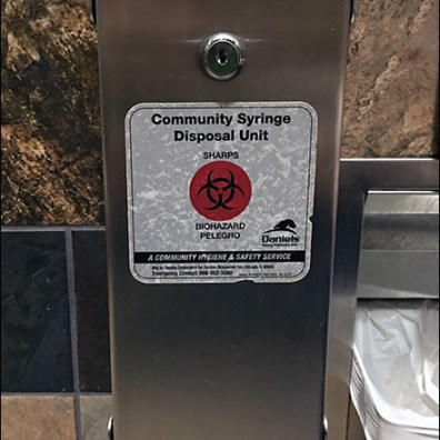 Kalahari Community Syringe Disposal Unit