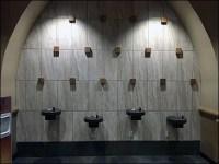 Kalahari Resort Staggered Water Fountains