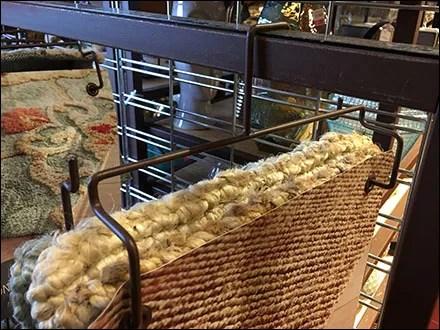 Fabric Sample Wireform Hanger Detail