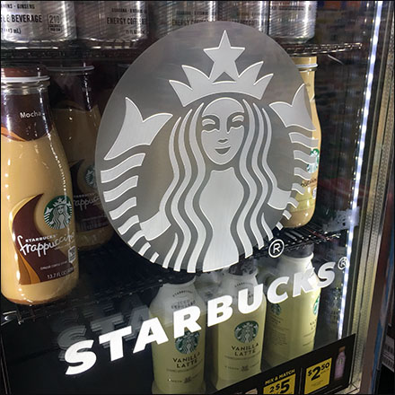 Starbucks Double-Barrel Grab-And-Go Coolers Logo