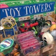 Toysmith Acrylic Bulk Bin Tower Display