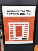 Big Lots Floor-Plan Schematic Welcome