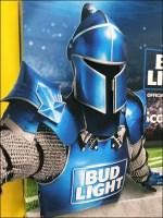Bud Light Game-Day Goalpost Display