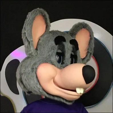 Chuck E Cheese Mascot