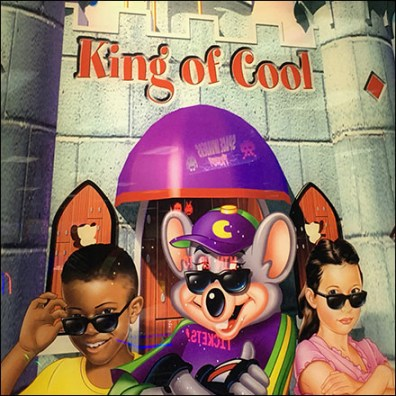 Chuck E Cheese King-of-Cool Title
