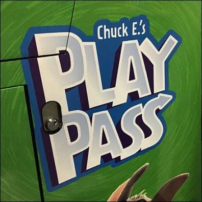 Chuck E Cheese Play Pass Refill Kiosk