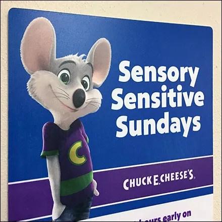 Chuck E Cheese Special-Needs Sensory Sundays