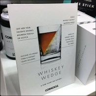 Corkcicle Whiskey Wedge Counter-Top Sign