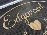 Edgewood Living-and-Giving Welcome Mat