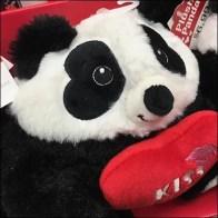 Valentine's Day Plush Panda Shelf-Edge Display