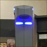 Retail Robot Patrol Game Face