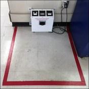 Retail Robot Recharging-Station Floor-Graphic
