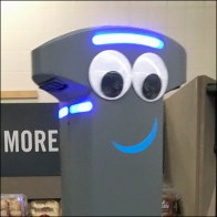 Retail Robot Welcoming Committee Host