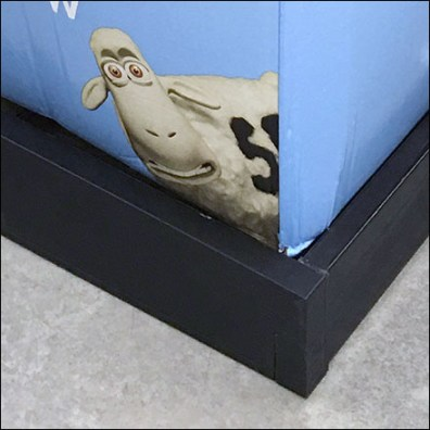 Perfect-Sleeper Pillow Bulk-Bin Pallet Guard
