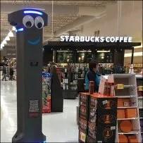 Twin Retail Robot Starbucks Coffee-Break