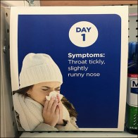 Cold Remedy Signs