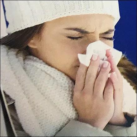 Cold Symptoms Shelf-Edge Tent-Signs
