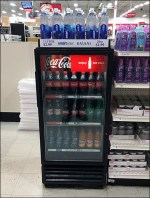 Dasani Liter-Bottle Cooler-Top Grab-And Go