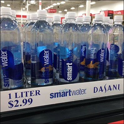 Dasani Liter-Bottle Cooler-Top Grab-And Go