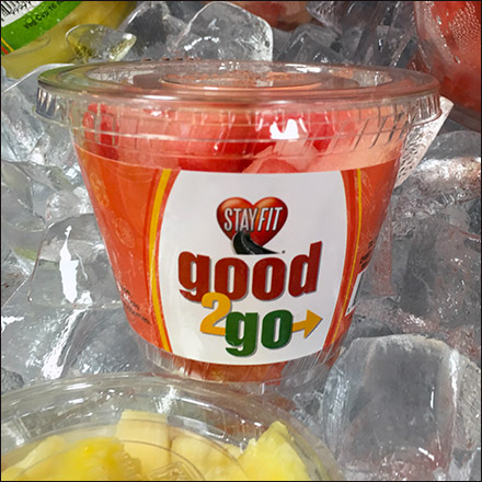 Good2Go Fresh Fruit & Veggie Cup Feature