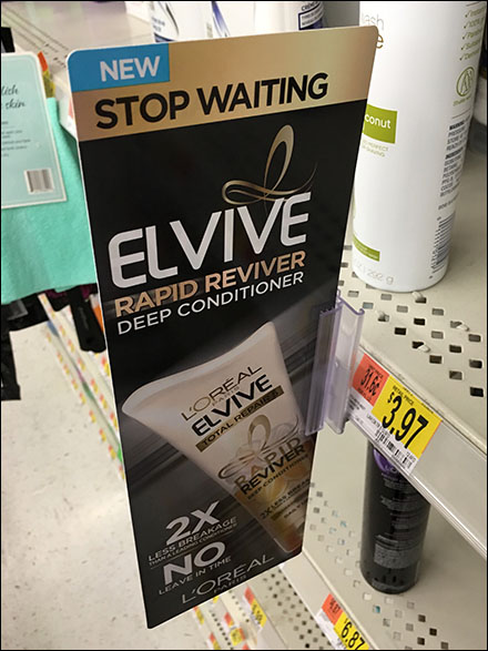L'Oreal Elvive Shelf-Edge Aisle Invader