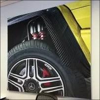 Mercedes Benz G-Class Off-Road Details Poster