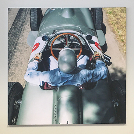 Mercedes Benz Vintage W-154 Race Car Poster