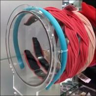 Nordstrom Clear Acrylic Headband Bump Feature