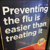 Preventing Flu Better Than Treating Flu Advisory
