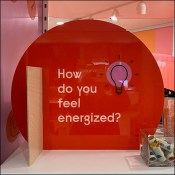 Experiential Do-You-Feel-Energized Red Tower