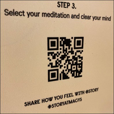 Story Experiential Feel Really Relaxed QR Code Aux