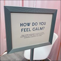 Experiential Fitting-Room Meditation Chamber