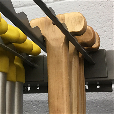 Canoe Paddle Twin-Arm Bar Hook