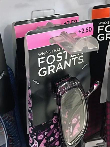 Foster-Grant Slot-Mount Butterfly Hook